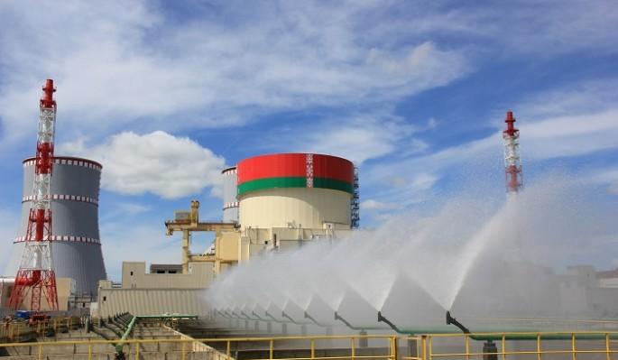 """Глава """"Росатома"""" проверил ход работ на втором энергоблоке Белорусской АЭС"""
