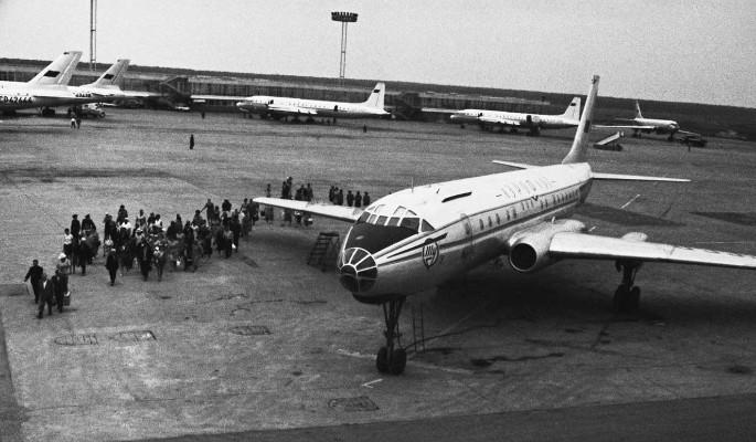 История крушения Ту-104 под Хабаровском в 1962 году