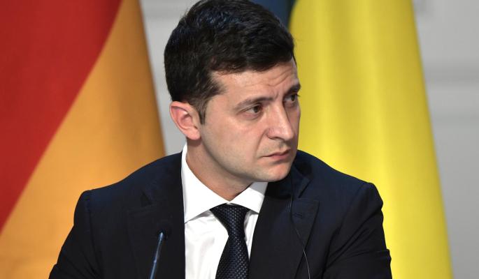 Вопрос Крыма назвали на Украине главным условием для встречи Путина и Зеленского