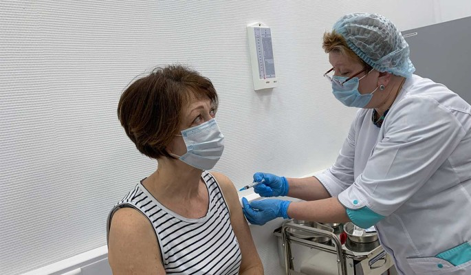 В Москве привились от коронавируса пять миллионов человек