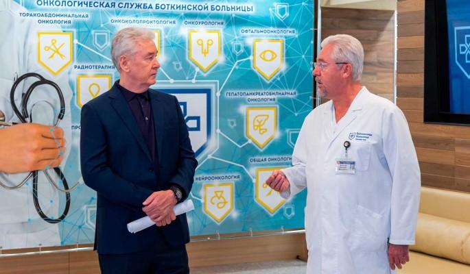 Собянин объявил о завершении ремонта трех корпусов Боткинской больницы