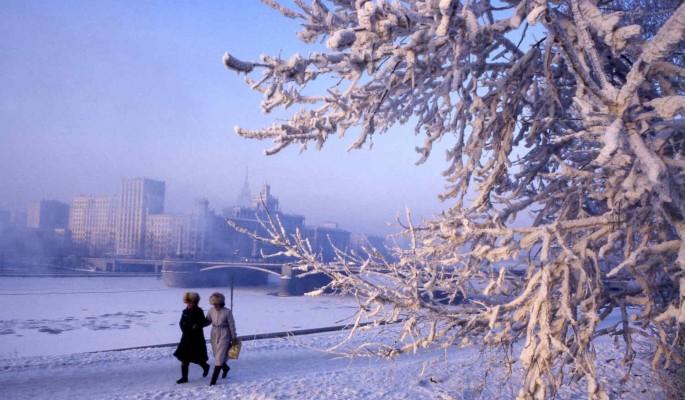 Жителей Европейской части России призвали готовиться к сильным морозам
