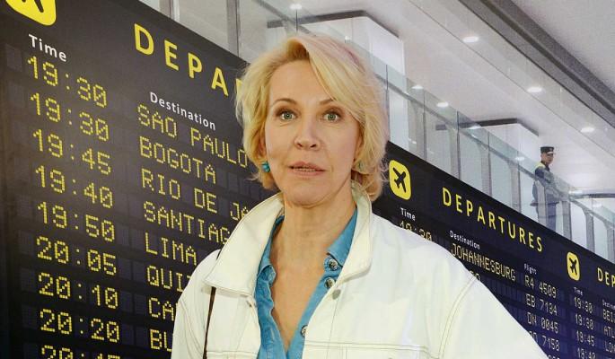 Лазарева бросила извращенца Панина на чужбине после слухов о разводе