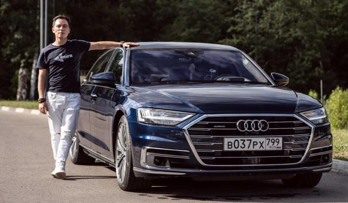 Audi A8 Long: Быстрее, ниже, длиннее