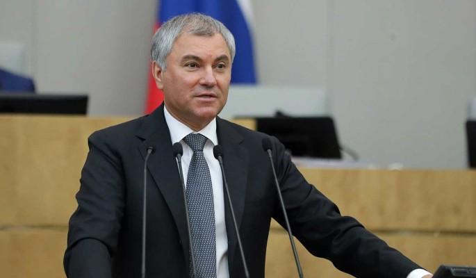 Володин ревакцинировался и призвал новых депутатов Госдумы сделать прививку от коронавируса