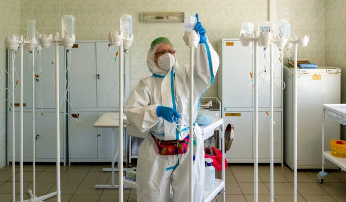 В России выявили 24 522 новых случая коронавируса