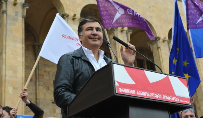 Политолог Шарашенидзе об обманутом сторонниками Саакашвили: Он все не до конца понимает