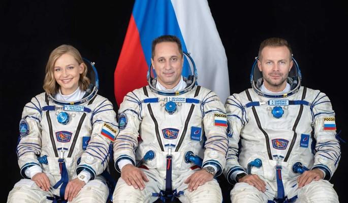 Дадут Героя России или сделают депутатом: бороздящую космос Пересильд ждут большие перемены