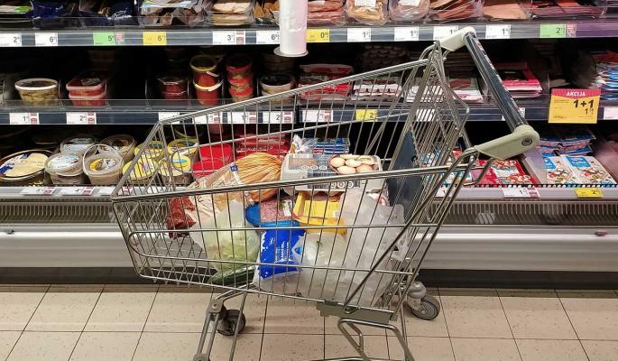 Цены на продукты рекордно выросли впервые за 40 лет: Почти на 30%