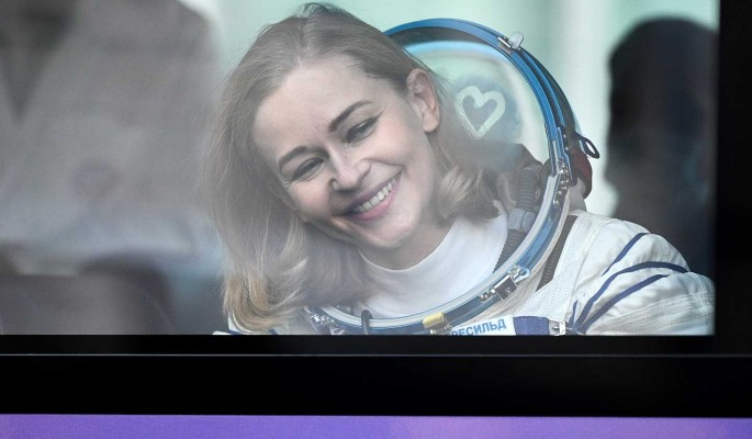Выглядит странно: Пересильд после съемок в открытом космосе дали дельный совет