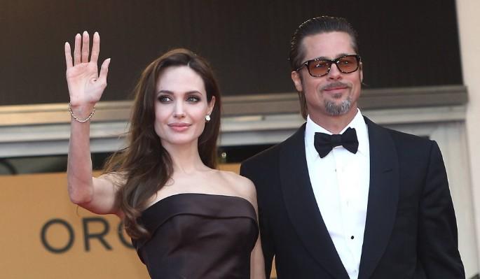 Джоли вмазала Питту после скандального иска в суд