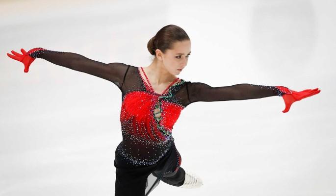 Фигуристка Валиева побила два мировых рекорда на турнире в Финляндии
