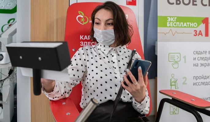 Более 22 тысяч москвичей сделали ЭКГ в центрах госуслуг