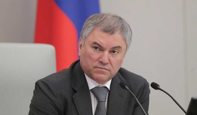 Володин рассказал о первом заседании Совета Госдумы восьмого созыва