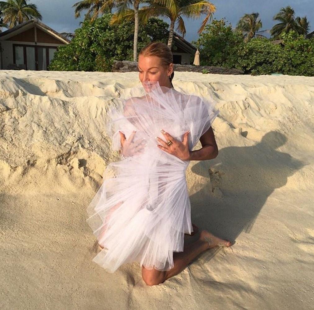 Анастасия волочкова одела трусики прилюдно