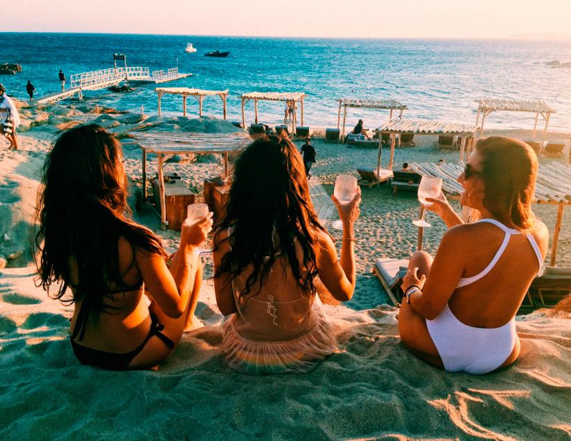 Отдых с подругами картинки